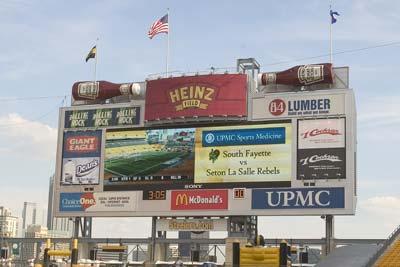 heinz field scoreboard