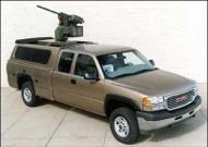 pickup truck gun